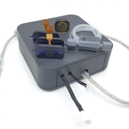 Bartels Mikrotechnik microflulidic evaluation sets mp6 micropump mpSmart set with sensor tube and pump